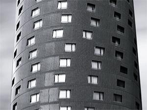 Edificios llenos de sensualidad