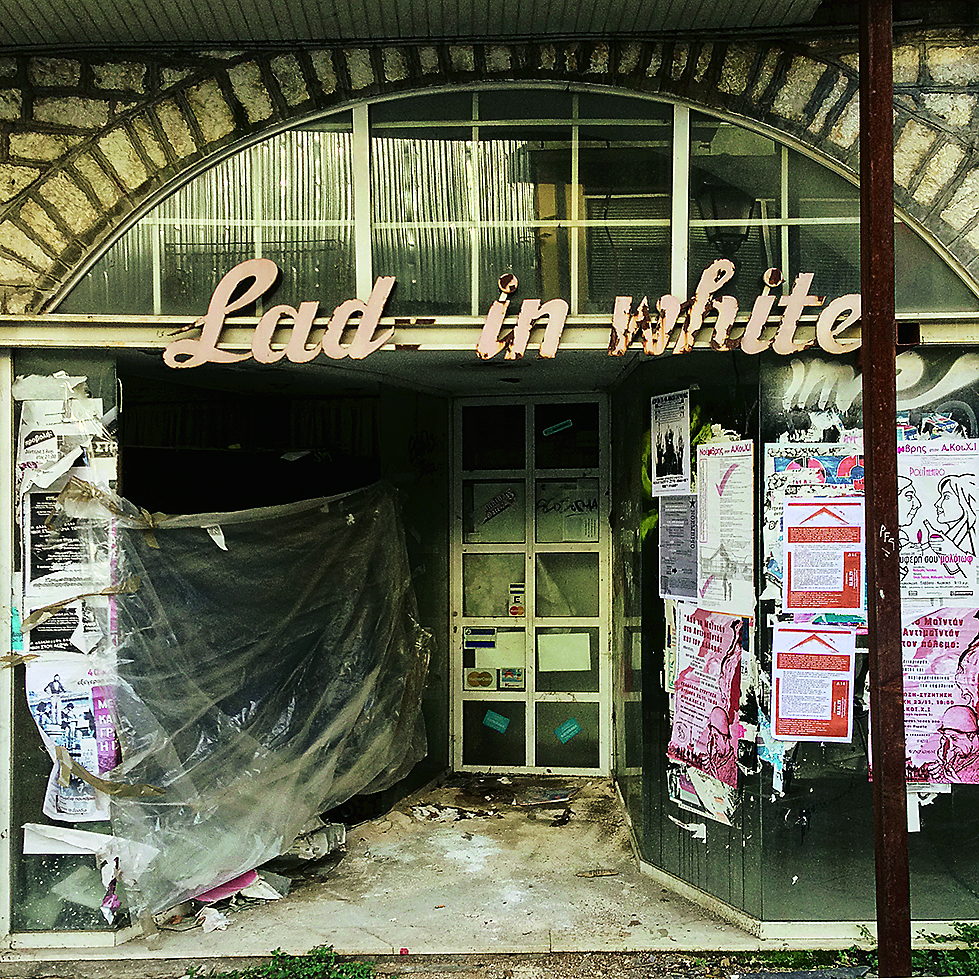 A closed down fashion store in  Anexartisias Str, Ioannina